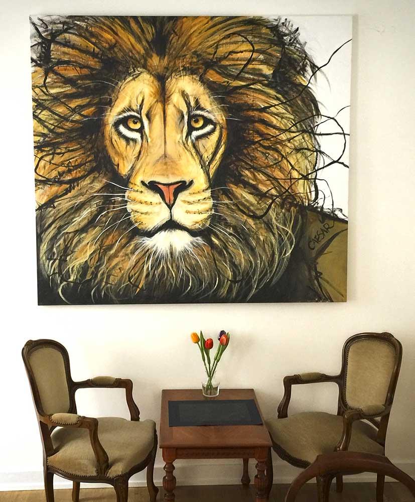 Lejonet hos Franckes Bageri & Cafe